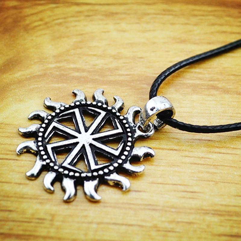 new 2016 Silve Slavic Kolovrat Pendants Slavic Amulet Pendants - მოდის სამკაულები - ფოტო 5