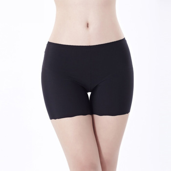 Safety Short Pants for Women Summer Underwear Thin Inner Boxer Shorts Plus Size Safety Short Pants Underwear women's panties