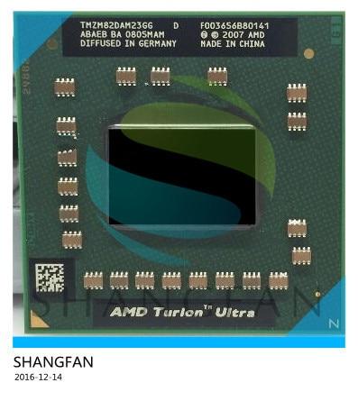 AMD المحمول الأصلي وحدة المعالجة المركزية TMZM82DAM23GG ZM82 2.2 Ghz/2 M PGA638 ZM 82 ZM-82 المعالج PGA 638 المقبس S1