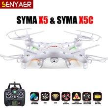 Original syma x5c (Versión de actualización) RC Drone 4CH 6-Axis Helicóptero Teledirigido de Quadcopter Con Cámara de 2MP HD o X5 Sin Cámara