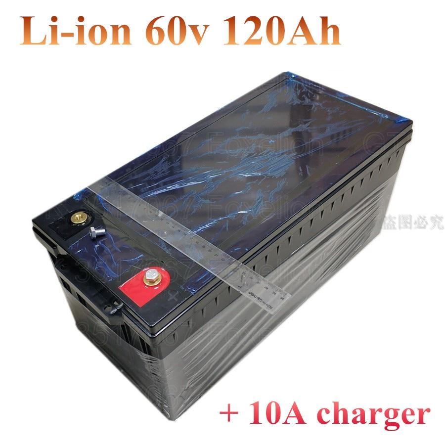60V 100Ah 120AH li ion Lithium Replace DEEP CYCLE VRLA