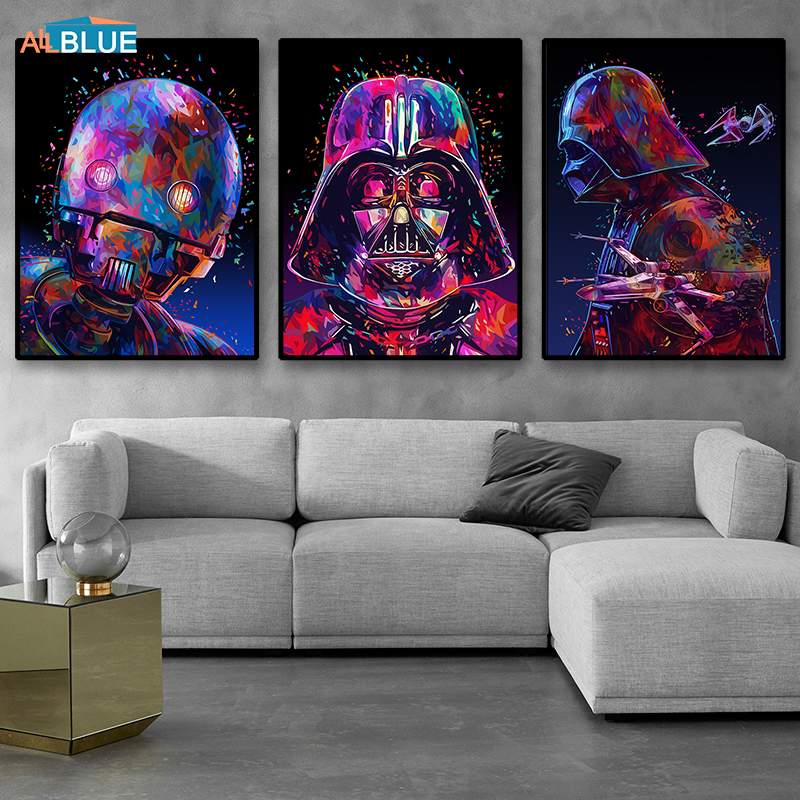 Star Wars Poster Canvas Print Movie Posters And Prints Canvas Paintings For Living Room Wall Art Decorative Pictures Home Decor Buy At The Price Of 2 81 In Aliexpress Com Imall Com