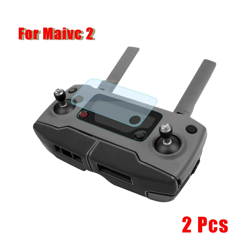 2PCS Scratch Resistant Protective Screen Protector For DJI Mavic Pro And Mavic 2 Pro Zoom Remote Controller