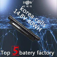 HSW battery 14.8V 40WH For DELL For INSPIRON 17R 5721,17 3721,15R 5521,15 3521,14R 5421,14 3421 VOSTRO 2521 2421 akku