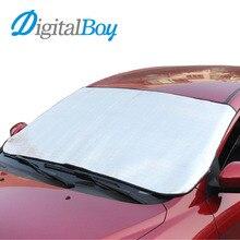 Digitalboy Практичный автомобиль ветрового стекла покрытие анти Снежная Мороз щит пыли защита автомобиля Защита от солнца Тенты для спереди лобовое стекло автомобиля