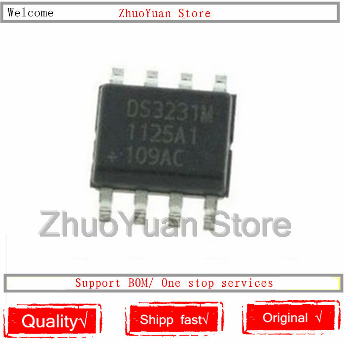 1PCS/lot DS3231MZ DS3231M SOP8 IC Chip New Original In Stock