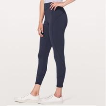 купить Women Sexy High Rise Yoga Pants Ultra Soft Lightweight Sports Leggings Tummy Control Workout Tights Seamless Trousers XXS-L по цене 1123.91 рублей