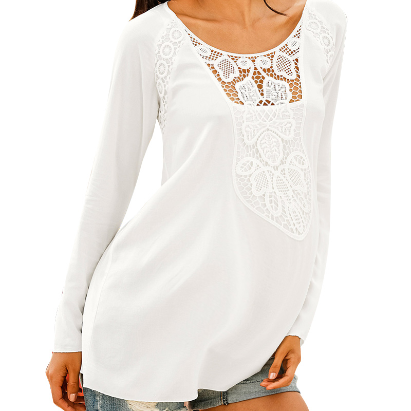 SMDPPWDBB Summer Maternity Clothes Women Tops Long Sleeve T Shirt Sexy Lace Hollow O-Neck Maternity T Shirt Pregnancy Clothes