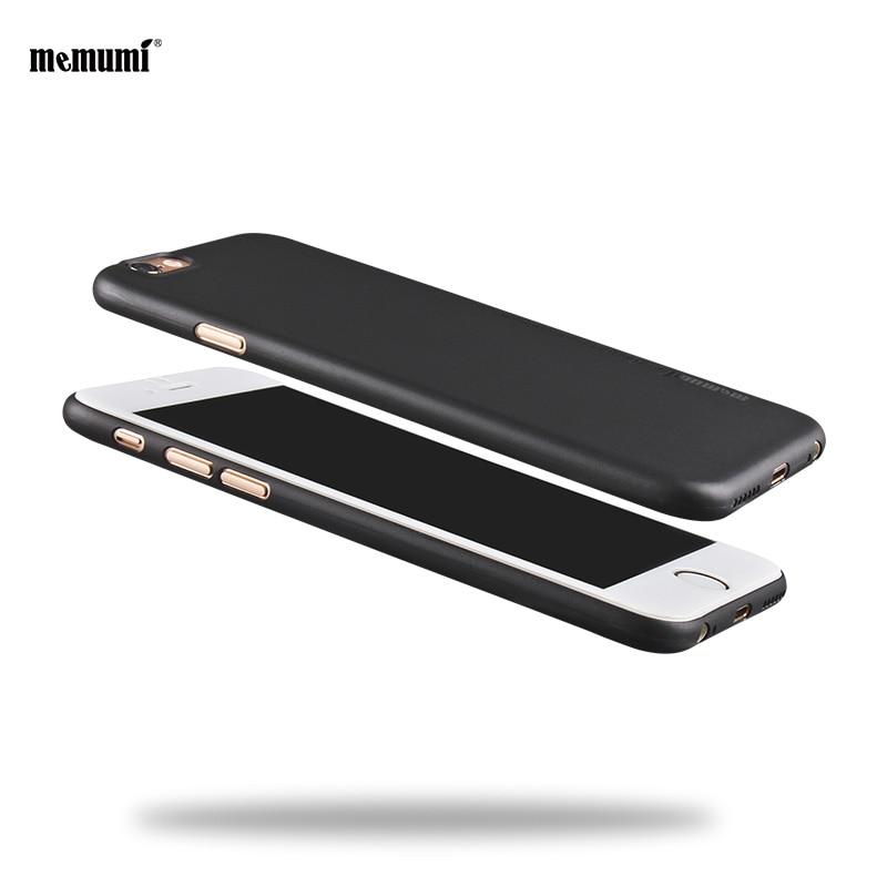 imágenes para Memumi Para iphone6/6 plus Caso Ultra Fino para iphon6s/iphone6s más Duro de La Cubierta para Apple iphone6s caso iphone6s más Caso