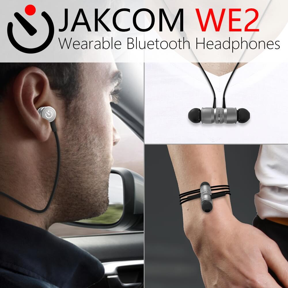JAKCOM WE2 Wearable Bluetooth Earphone Nouveau produit de casque sans - Audio et vidéo portable
