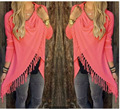 Aliexpress Europe new long slim tassel classic slash jackets four yards a girl four