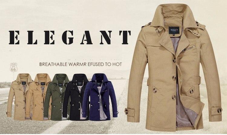 Hcxy marca 2019 masculino casaco longo casaco