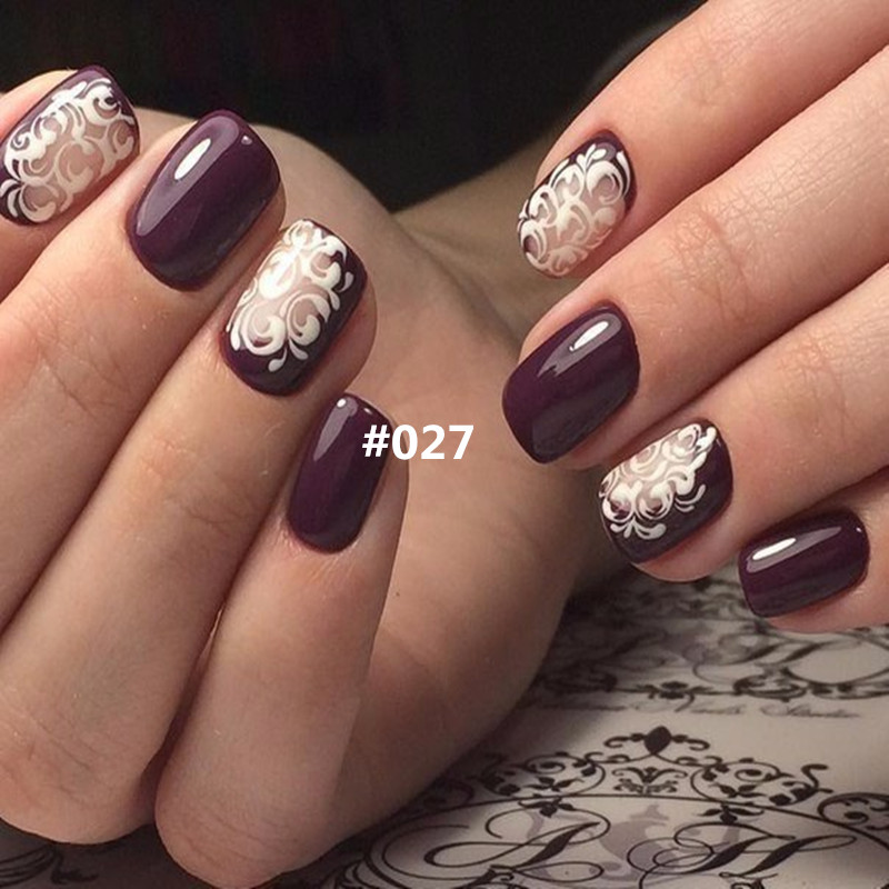 Wine Gl Nail Art Best Designs 2018
