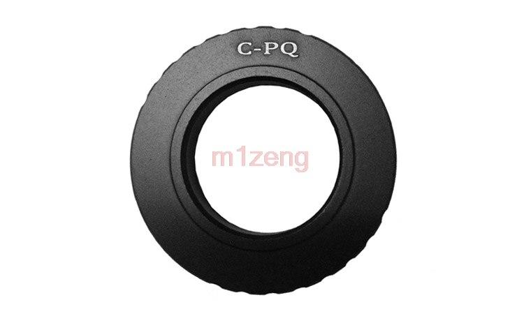 c-pq C Mount 16mm cine/film cctv Movie lens adapter to Pentax Q P/Q PQ Q10 Q7 mirrlrless camera