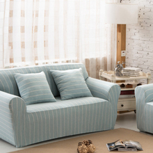 European classic on cotton knitted sofa cover, Four Seasons General, full coverage, stretch sofa cover