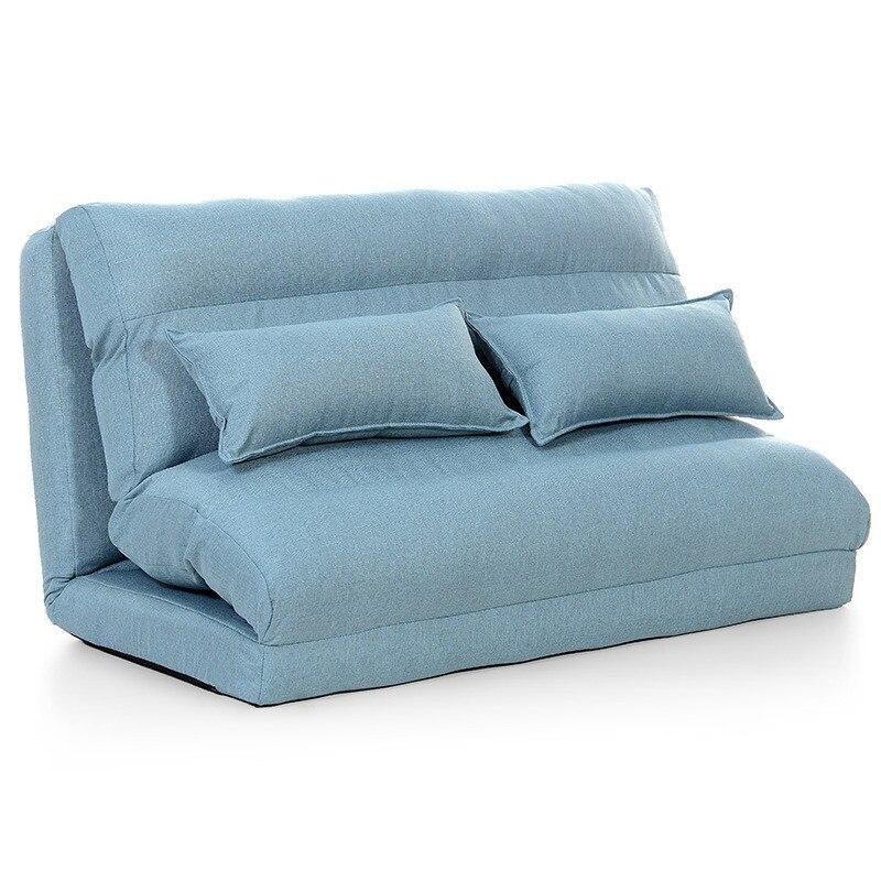 Floor Folding Single Seat Sofa Bed Modern Fabric Japanese Living ...