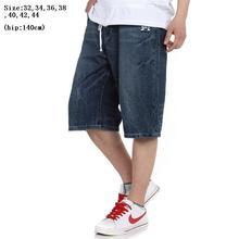 Размер 32-44 Хип-Хоп брюки плюс размер джинсы досуг в мужских брюк в Европе и мужчин брюки