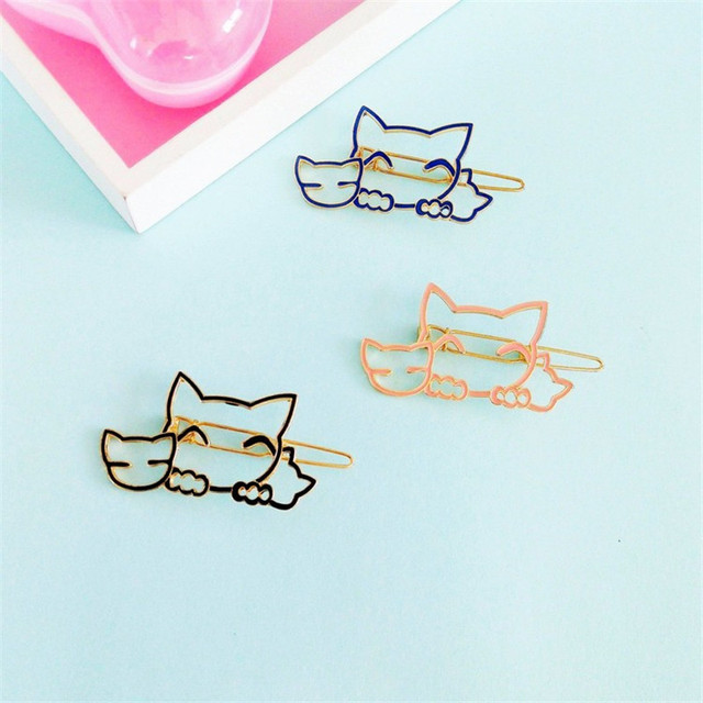 Aesthetic cute drawing Peach Kitten Hairpin Japanese Cute Cartoon Animal Hair Ornaments Minimalist Aesthetic Geometric Card Wow Iraq Wild Headdress Drawception Kitten Hairpin Japanese Cute Cartoon Animal Hair Ornaments