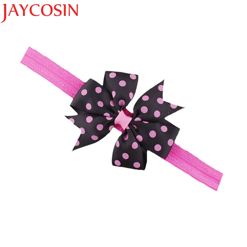 JAYCOSIN Children's Elastic Force Hair Band girl hair accessories baby headband cute baby hair band Drop Shipping цены онлайн