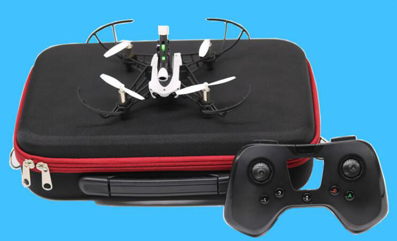 1PC Portable Storage Bag Shoulder Bag Protection Case Protective Handbag For Parrot Mambo And Flypad Remote Controller Parts nylon carrying storage bag handbag travel protective case for dji spark