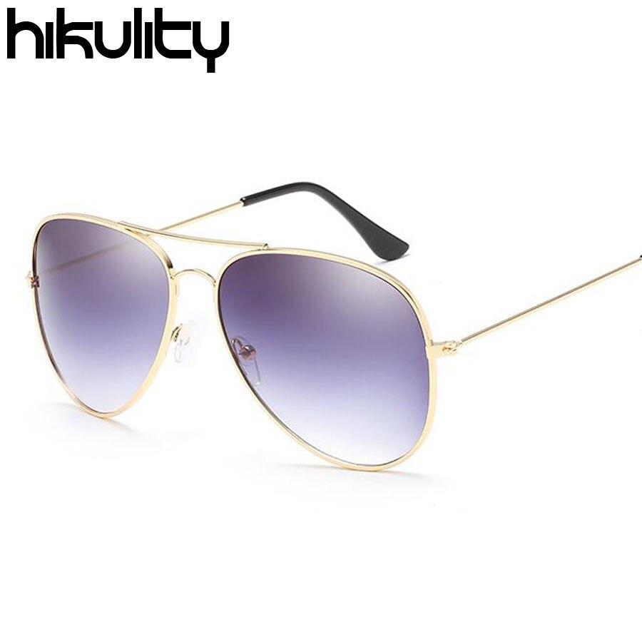 Vintage Red Glasses Female 2018 Aviator Sunglasses Women Brand Designer Retro Gradient Pilot Sun Glasses for Women Sunglasses