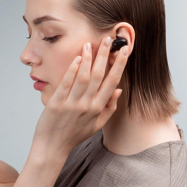 xiaomi airdots Redmi Airdots TWS Wireless earphone Voice control Bluetooth 5.0 Noise reduction Tap Control 4