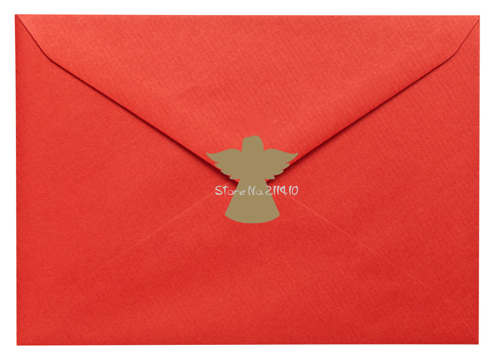 Buon Natale 4x4.Us 4 98 25 Di Sconto 4x4 Cm Mini Angeli Adesivi Per Busta Carta Invito Festa Cheristmas Sticker Decal Buon Natale Da Parete Decorazione Murale A659