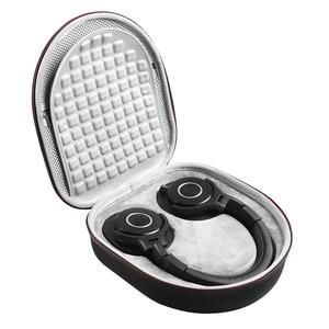 Image 2 - Portable Headphones Case Cover Box for Audio technica ATH M50X ATH M40X ATH M50S ATH M20X ATH M30 Headphone Headset Bag Handbag