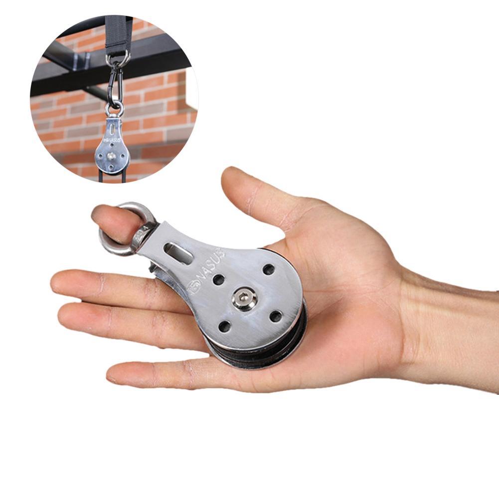 Bearing Lifting Pulley Hanging Wheel Silent Hanging Wheel Fitness Wheel Mute Silent Wheel