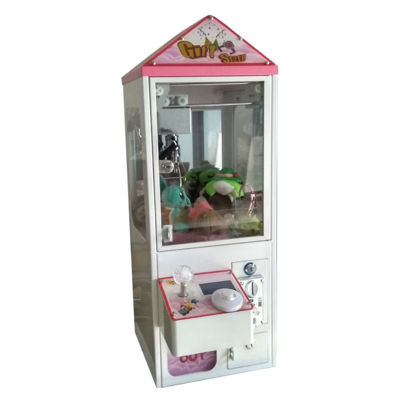 Coin Operated Mini Metal Case bartop Arcade Claw Crane Machine candy toy catcher For Sale led screen toy crane machine board kits arcade toy crane mainboard coin operated doll machine claw machine