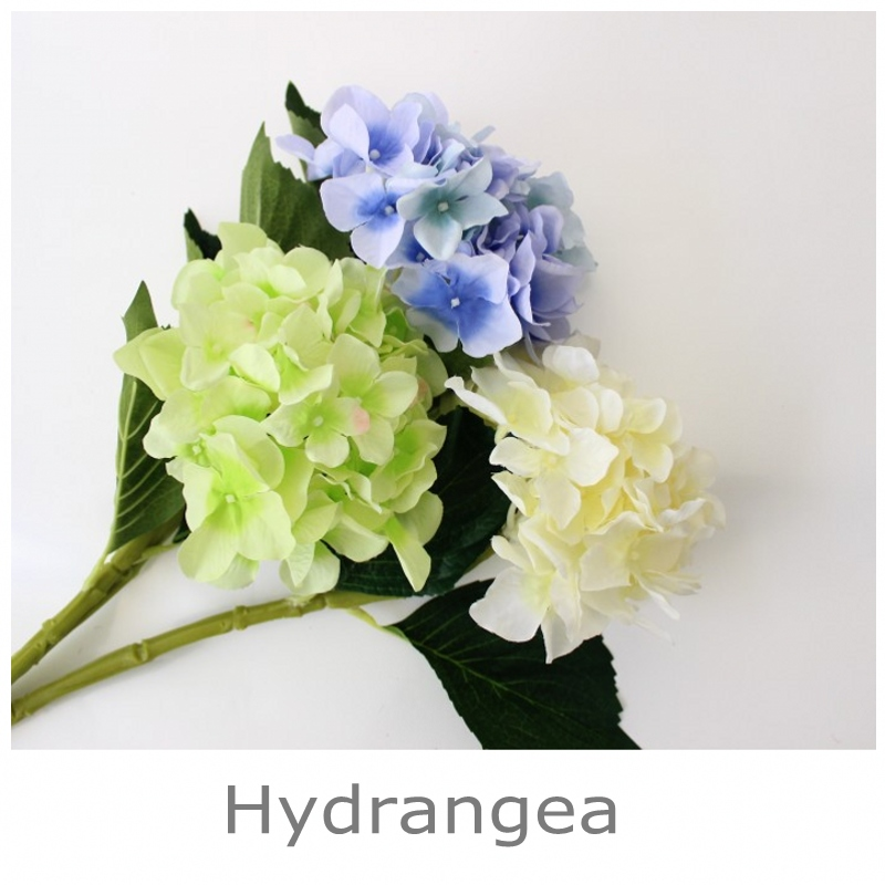 3PCS lepo hortenzija umetno cvetje svilene rože domače dekoracije - Prazniki in zabave - Fotografija 3