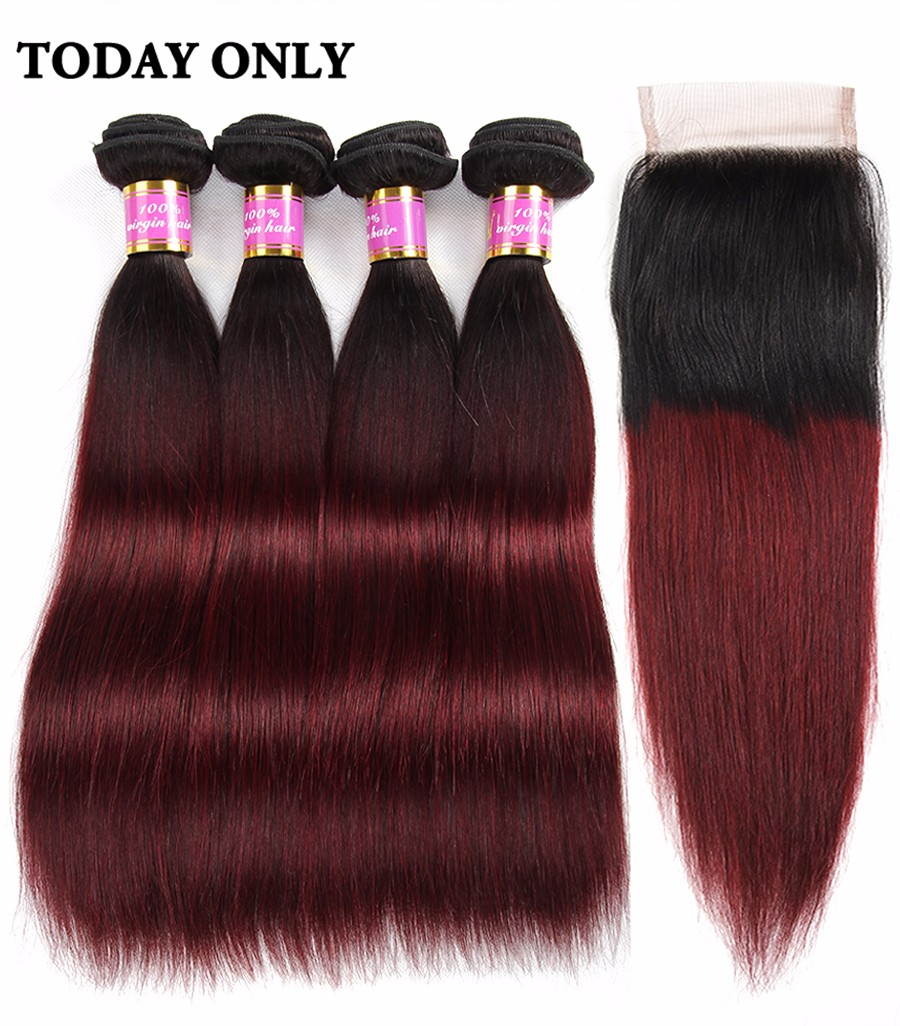 brazilian virgin hair with closure 02