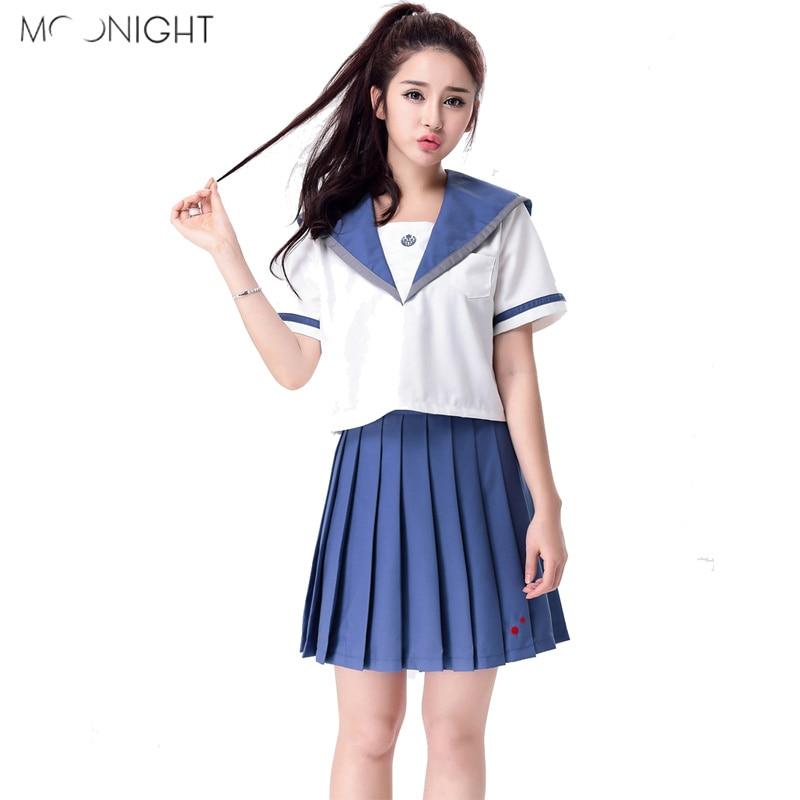 Moonight Halloween Adult School Girl Role Play Cosplay -6512