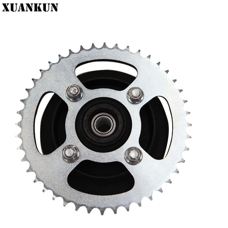 XUANKUN Motorcycle KP150 / 44 Rear Gear Wheel Hub Assembly Rear Sprocket Seat цена