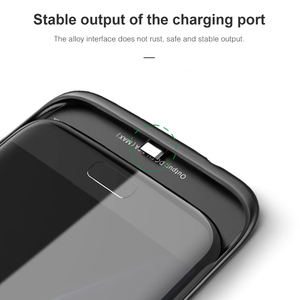 Image 4 - Batterij Case Voor Samsung Galaxy S7 Zachte Dunne Power Bank Oplader Opladen Case Batterie externe Powerbank Case Voor Samsung S7Edge