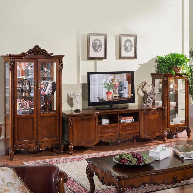 meubles en bois pour salon lcd meubles de salon anciens ensemble de supports tv pour lcd 10285