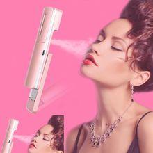 JinKaiRui Travel Mini Portable Atomizer Face Facial Steamer Nano Sprayer SPA Sauna Nebulizer Beauty Hydrating Skin Care Tools