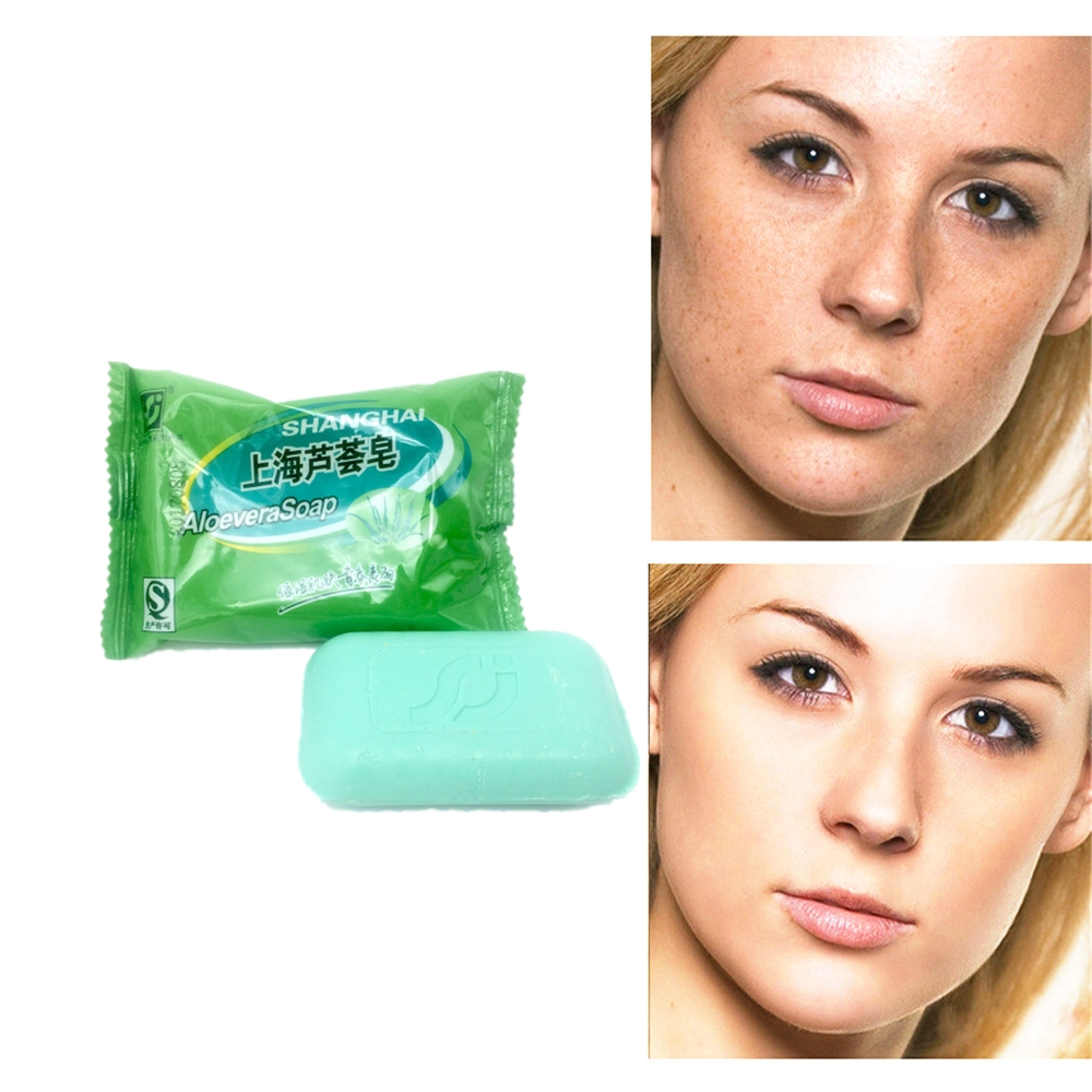 2019 Natural Active Energy ALOEVERA Concentrated Soap For Ance Face & Body Beauty Healthy Care