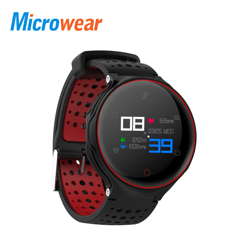 Microwear X2 Plus Smart Armband Herz Rate Monitor Schrittzähler Schlaf Tracker Smart Band Fitness Tracker für Android IOS iPhone