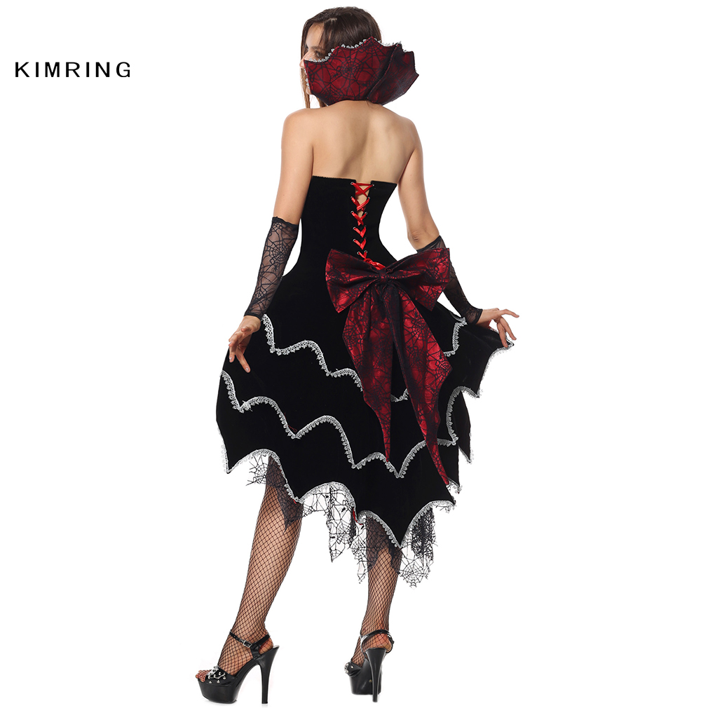 Aliexpress.com : Buy Kimring Sexy Witch Halloween Costume Gothic ...