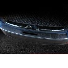 lsrtw2017 titanium black car trunk protective panel trims for subaru forester 2019 2020 SK
