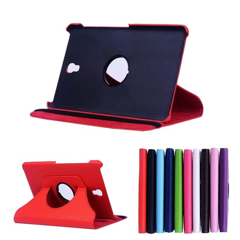 For Samsung Galaxy Tab S 8.4 inch T700 T705 T705C SM-T700 SM-T705 SM-T705C Tablet Case 360 Rotating Bracket Flip Leather Cover