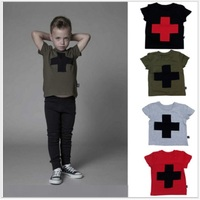 Cross Fashion Boys T-Shirts Children Clothing Boys Tees Shirts Kids Jersey Girls T Shirt Cotton