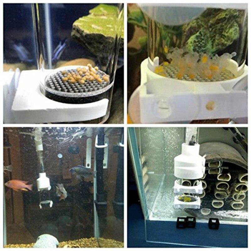 Fish Egg Incubator Tumbler Aquarium Fish Farming Cichlid Breeder Incubator Tumbler Fish Hatcher With Adjustable Air