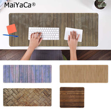 MaiYaCa Personalized Cool Fashion Wooden Floor Natural Rubber Gaming mousepad Desk Mat PC Computer