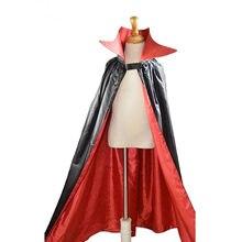 Nova festa diabo vampiro cabo medieval traje de halloween cosply palco desempenho roupas dia das crianças para a criança adolescente