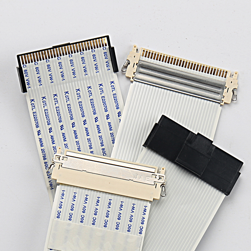 30PIN LCD Ribbon Cable - E220709 AWM 20798 80C 60V VW-1 Flexible FFC Cable For Brand Display Device