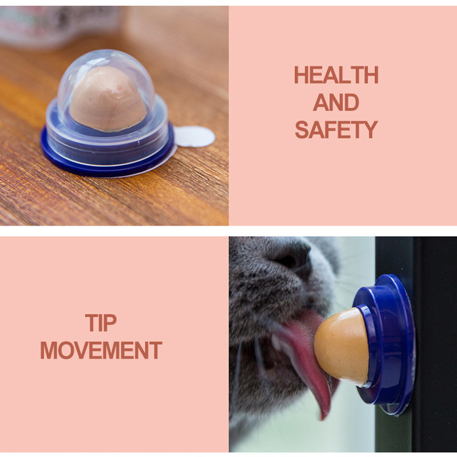 Healthy Cat Catnip Sugar Cats Safe Vitamin Snacks Licking Candy Nutrition Energy Ball Toys for Cat Playing Pet Food Cat Products 4