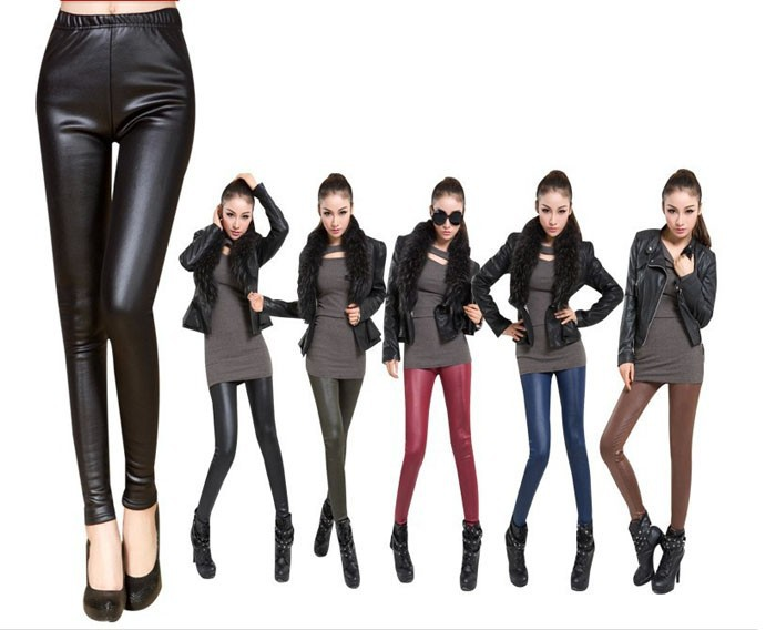 faux leather leggings (3)