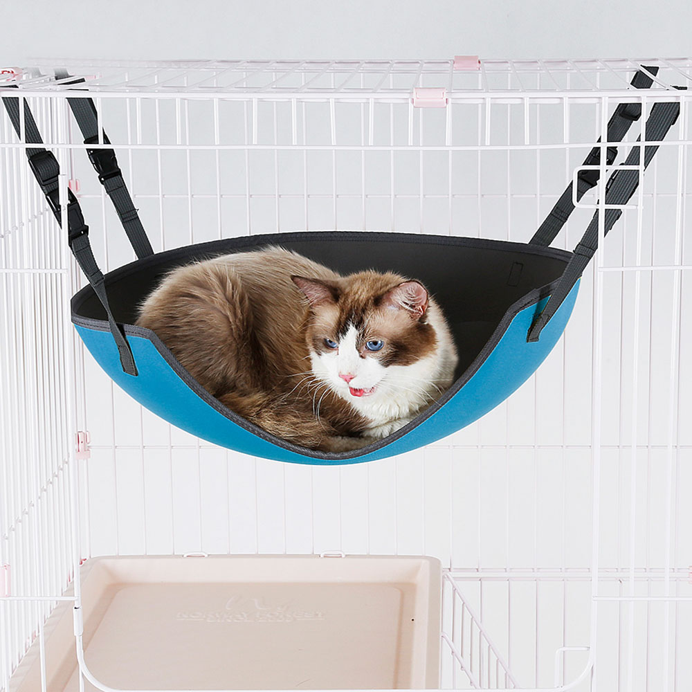 Cat Bed Pet Kitten Cat Hammock Removable Hanging Soft Bed Cages For Chair Kitty Rat Small Pets Swing